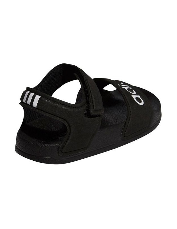 Adilette Sandal K Black and White Sandals image 3