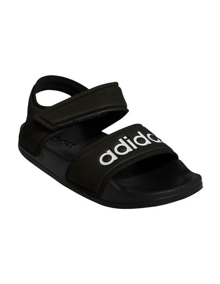Adilette Sandal K Black and White Sandals image 4