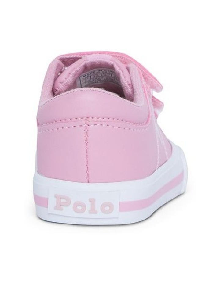 Elmwood Tumbled Infant Pink and White Sneakers image 3