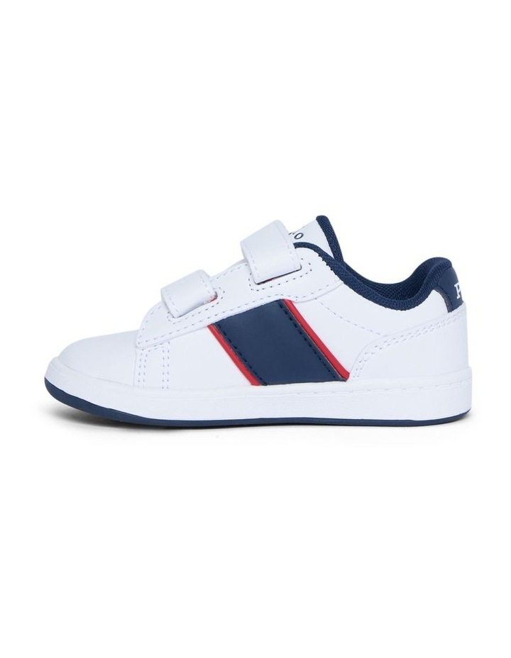 Oakview II Infant White Sneakers image 2
