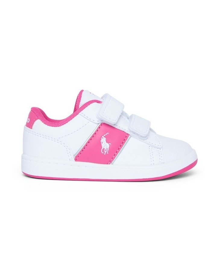 Oakview II Infant White and Pink Sneakers image 1