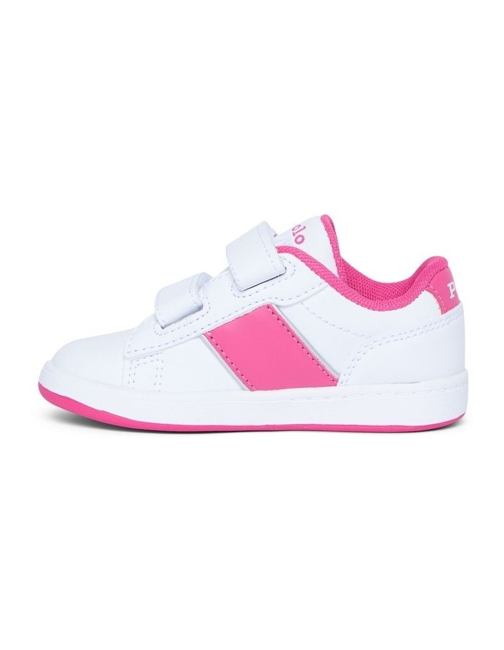 Oakview II Infant White and Pink Sneakers image 2