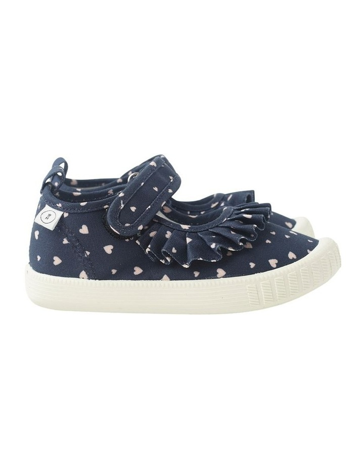 Classic Mary Jane Frill - Hearts Navy Sneakers image 1