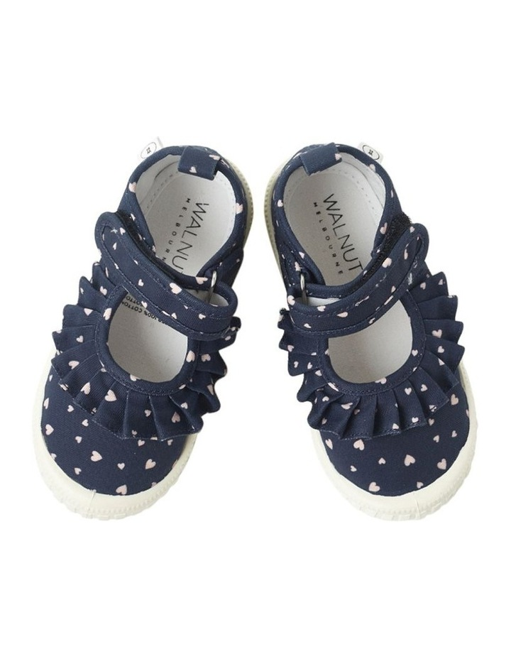 Classic Mary Jane Frill - Hearts Navy Sneakers image 3