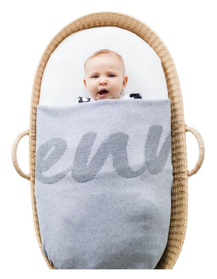 Grey Marle Pearl Blanket (Personalise Me!) image 2