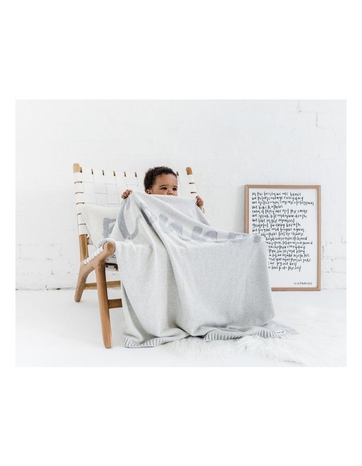 Oatmeal Grey Pearl Blanket (Personalise Me!) image 2
