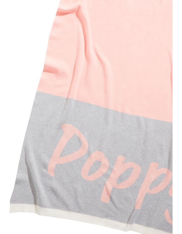 Panel Pink Throw (Personalise Me!) image 1