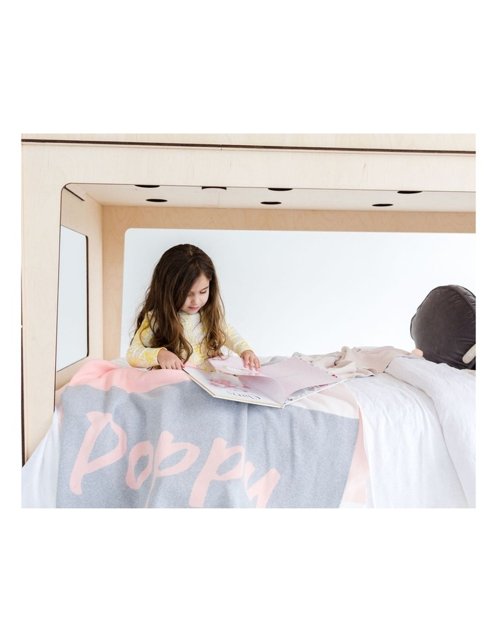 Panel Pink Throw (Personalise Me!) image 2