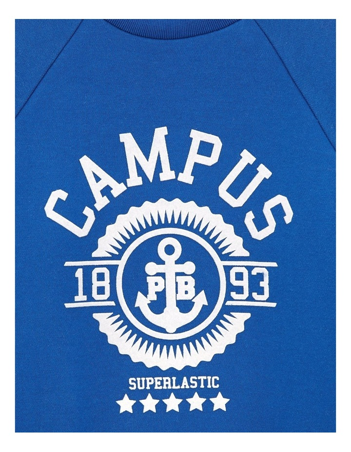 Boys Crew Neck Campus Sweat 44823 image 3