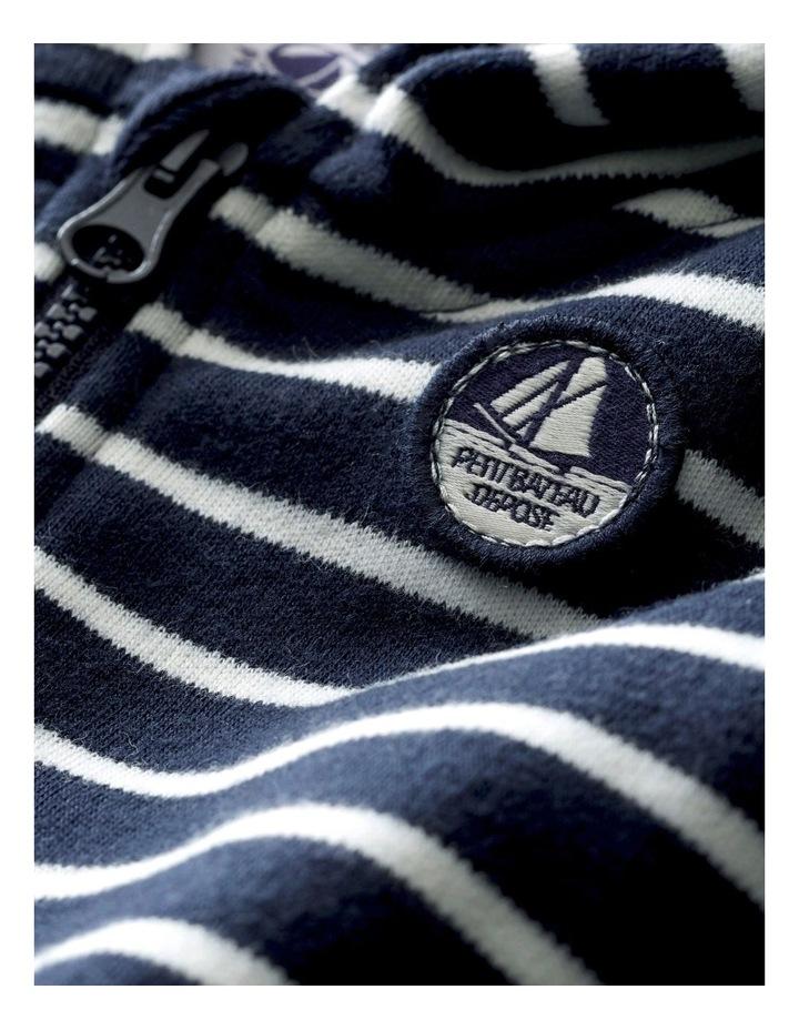 Boys Striped Hooded Sweatshirt 44733 image 3
