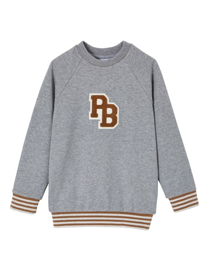 Boys Pb Badge Sweatshirt 45917 image 1