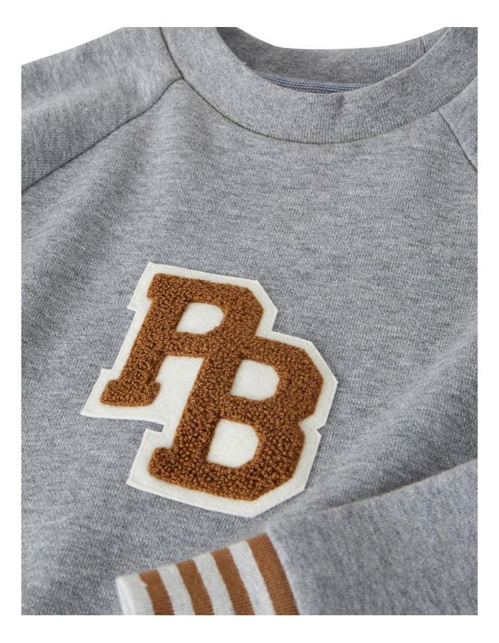 Boys Pb Badge Sweatshirt 45917 image 3