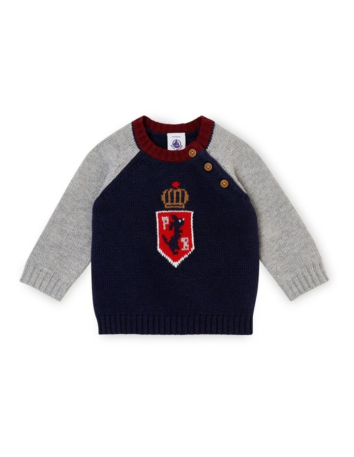 Boys Knitted Sweater 44394 image 1