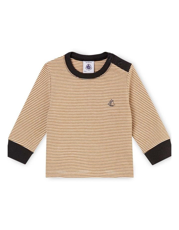 Boys Striped Long Sleeve T-Shirt 45857 image 1