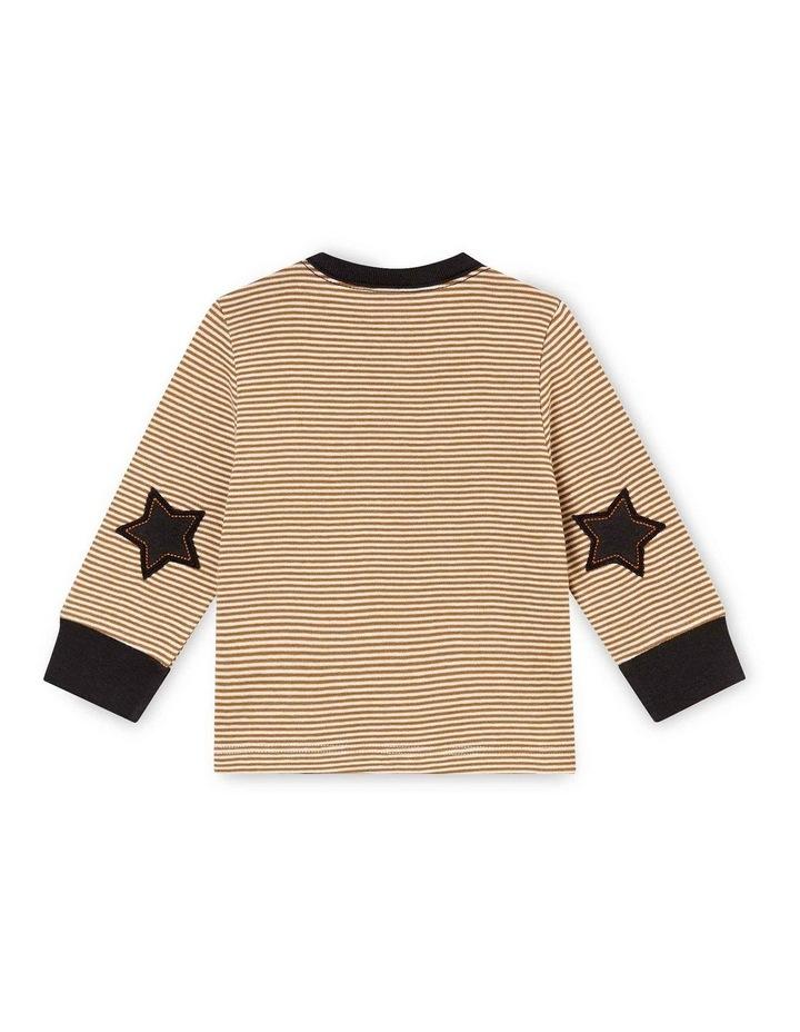 Boys Striped Long Sleeve T-Shirt 45857 image 2