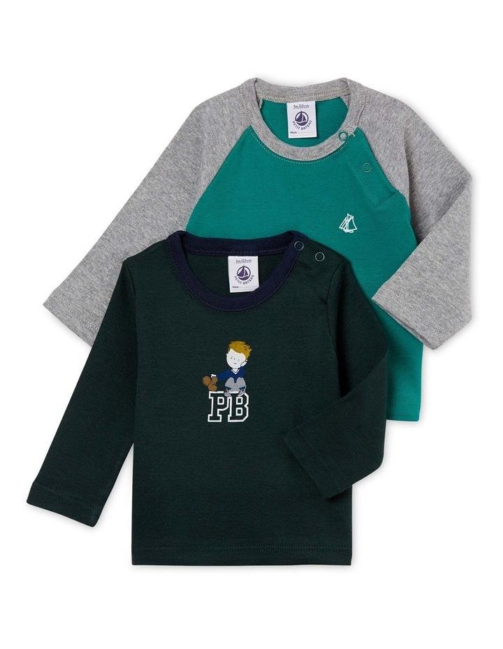Boys Printed Long Sleeve T-Shirt 44380 image 1