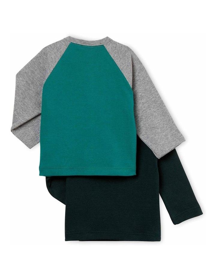 Boys Printed Long Sleeve T-Shirt 44380 image 2