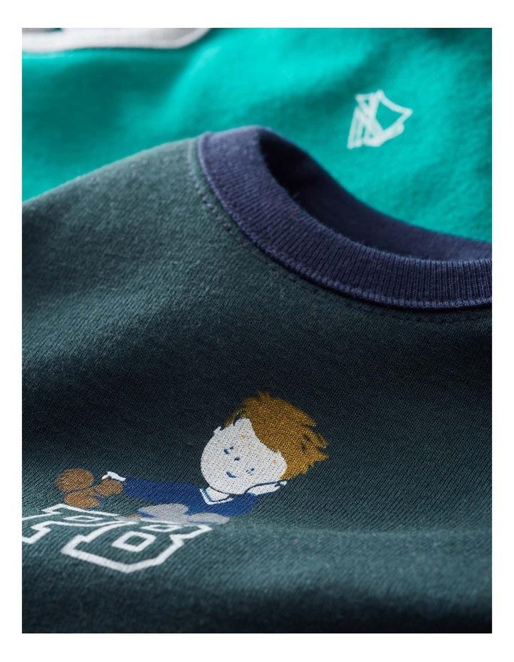 Boys Printed Long Sleeve T-Shirt 44380 image 3