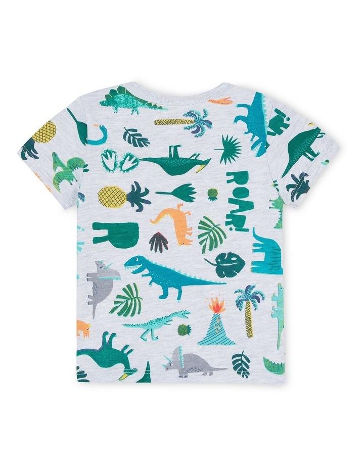 Boys Dinosaur Print T-Shirt image 2