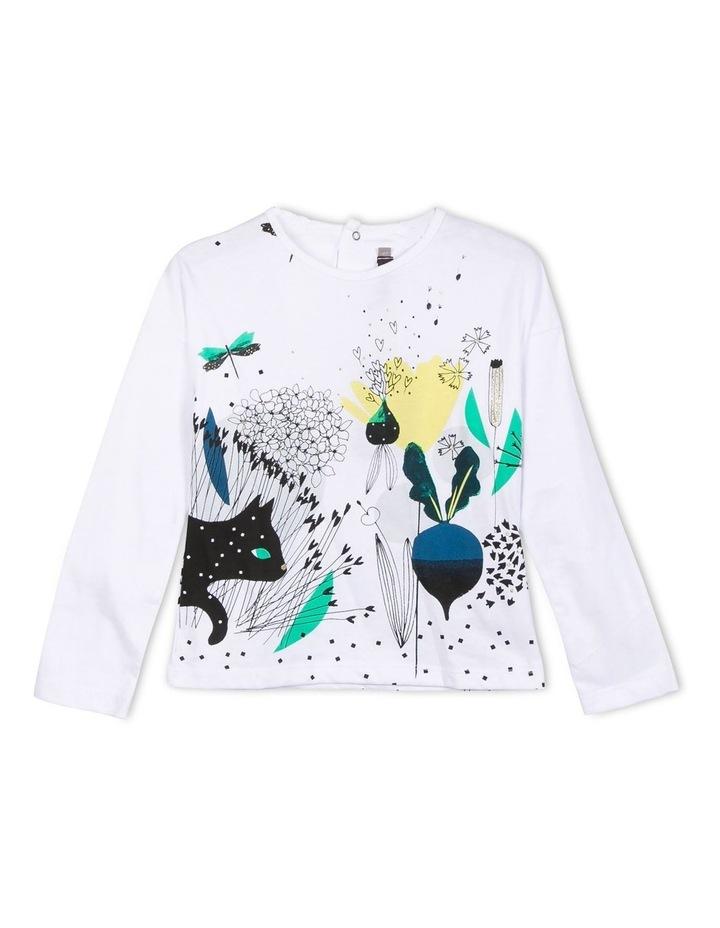 Catimini Girls Long Sleeve T-Shirt image 1