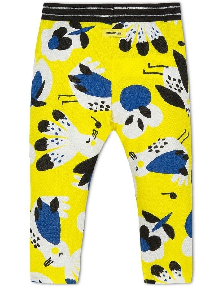 Girls Parrot Print Legging image 2
