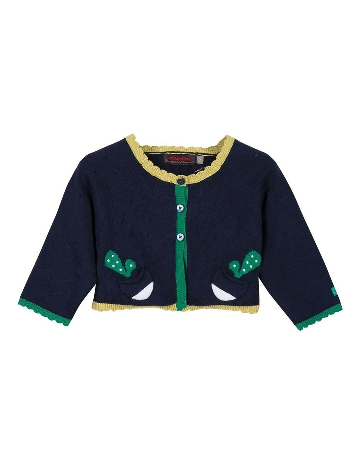 Catimini Girls Knitted Cardigan image 1