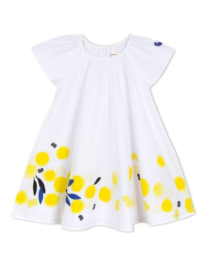 Girls Flower Print Dress image 1