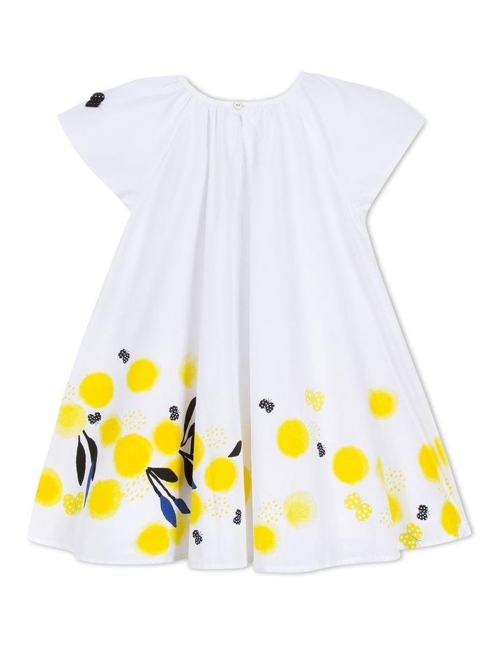 Girls Flower Print Dress image 2