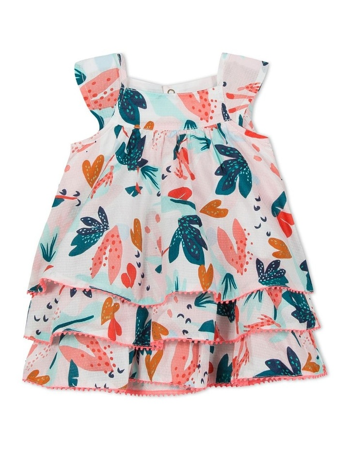 Girls Flower Print Dress image 1