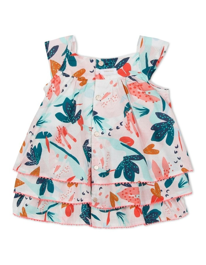 Girls Flower Print Dress image 2
