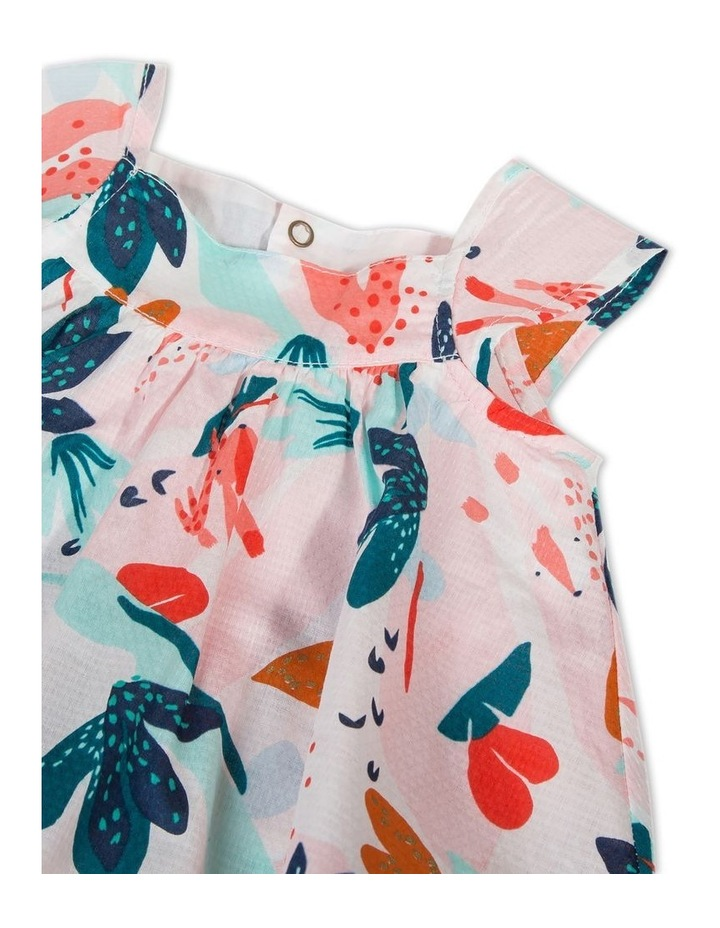 Girls Flower Print Dress image 3