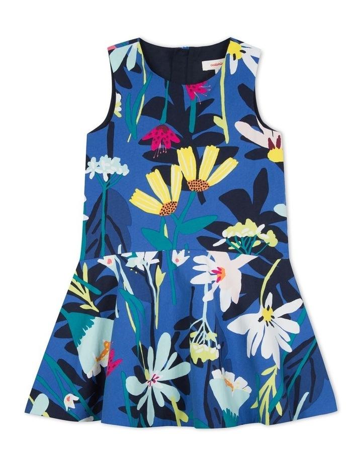 Girls Floral Print Dress image 1