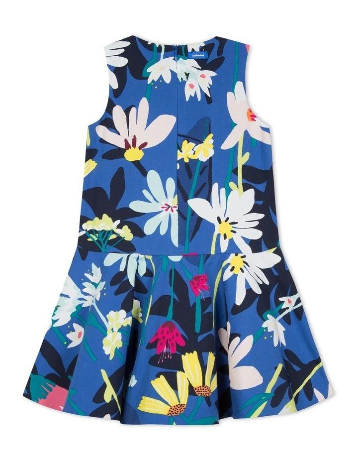 Girls Floral Print Dress image 2