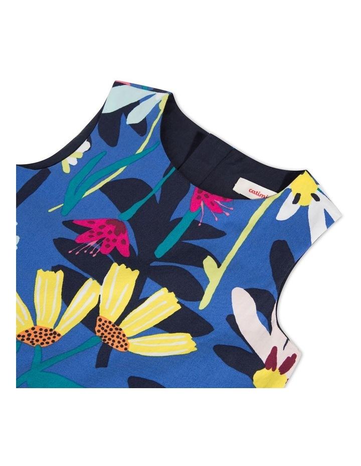 Girls Floral Print Dress image 3
