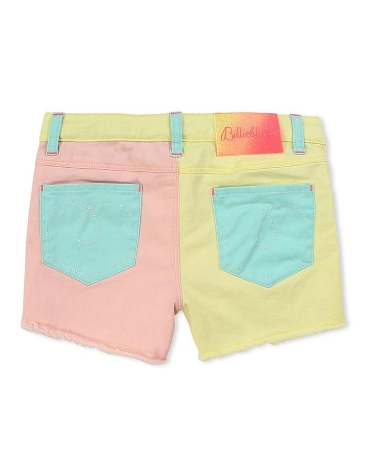 Multicoloured Twill Shorts image 2