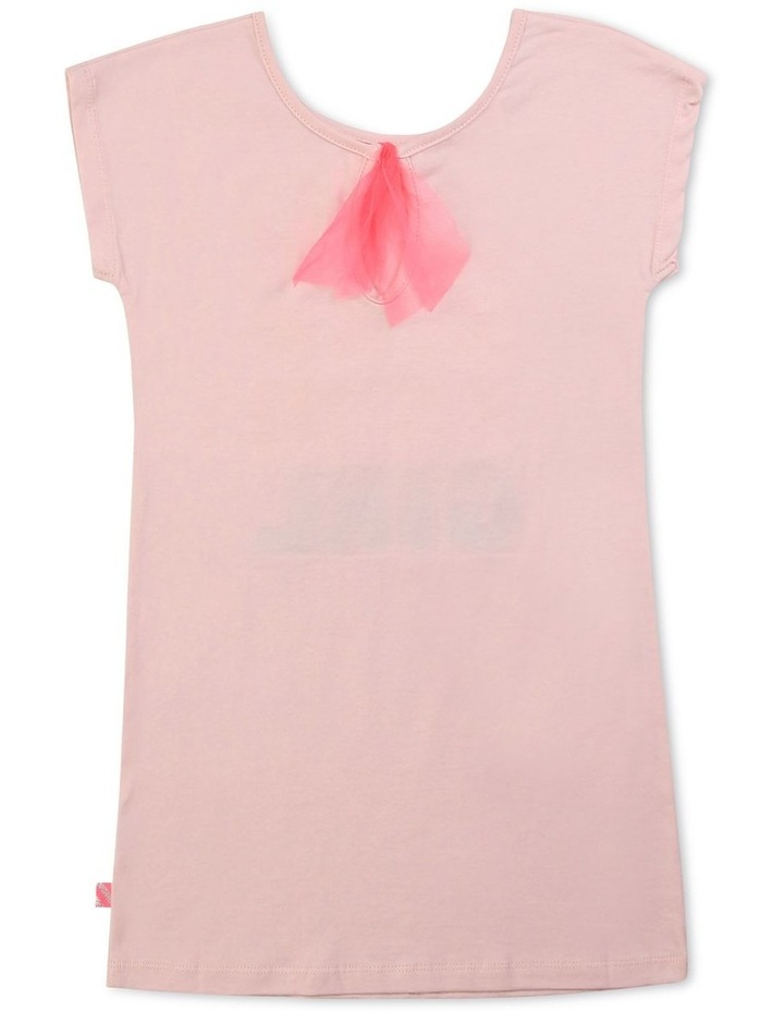 T-Shirt Dress In Cotton Jersey image 2
