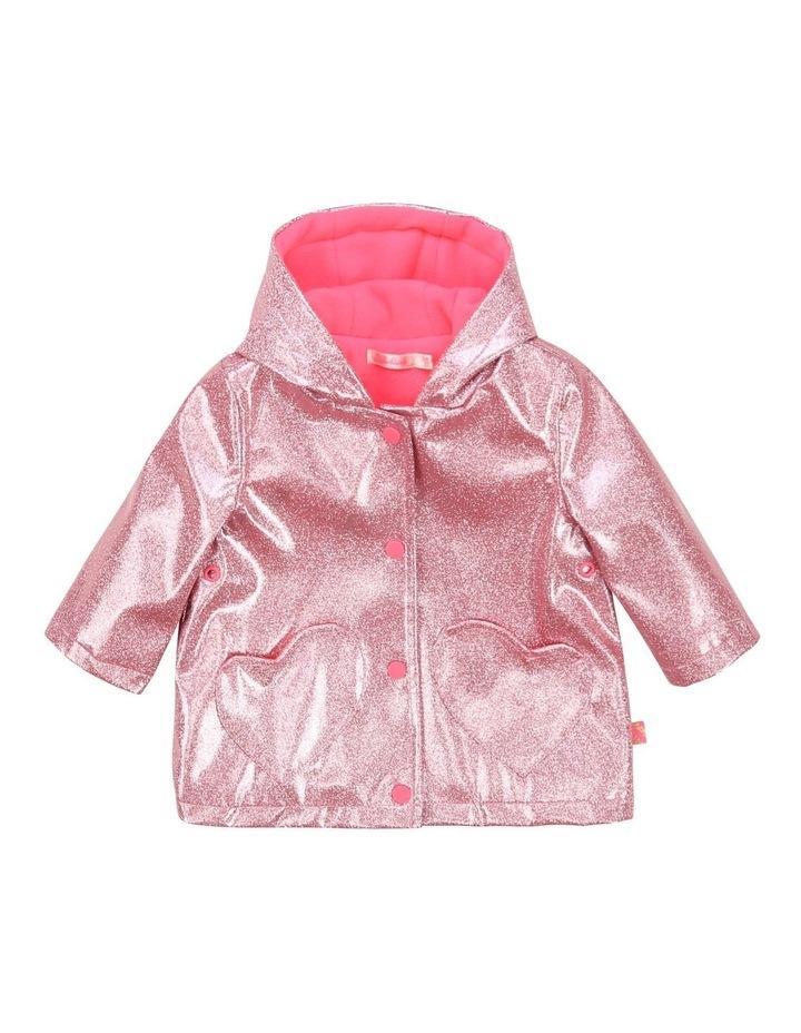 Billieblush Glittery Raincoat image 1