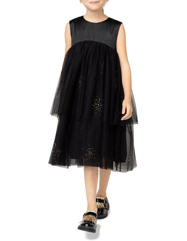 Bllieblush Iridescent Satin Dress image 3