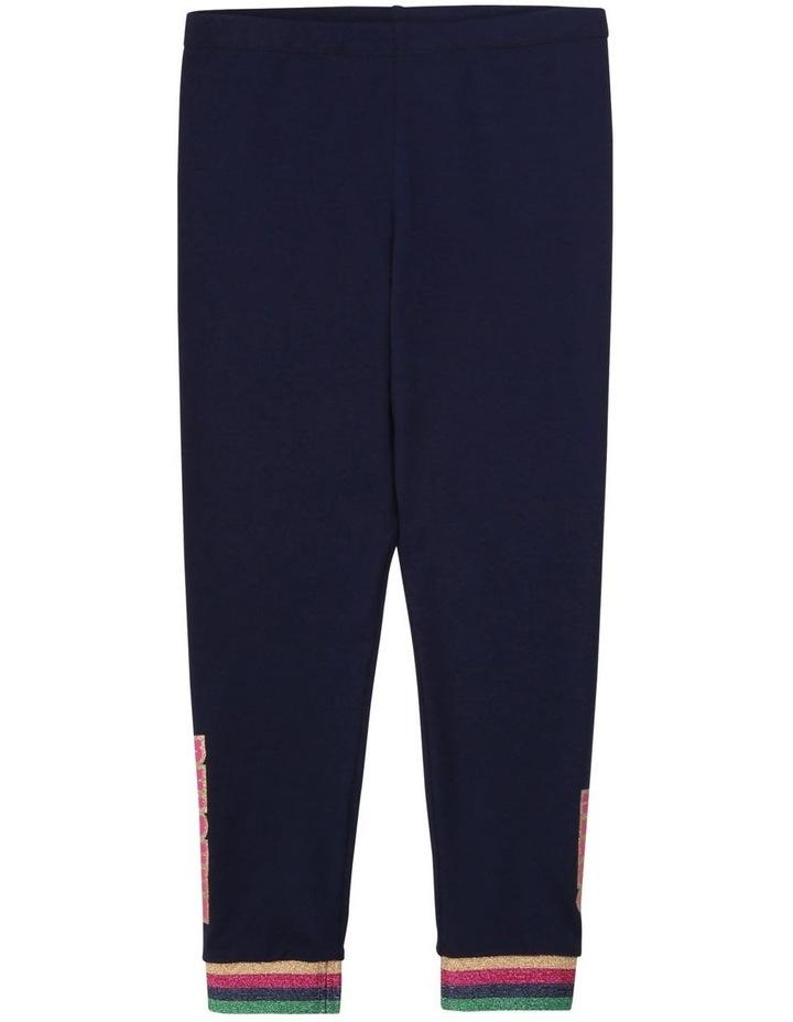 Cotton Jersey Leggings image 1
