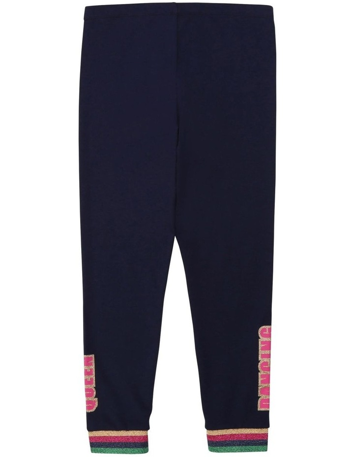 Cotton Jersey Leggings image 2