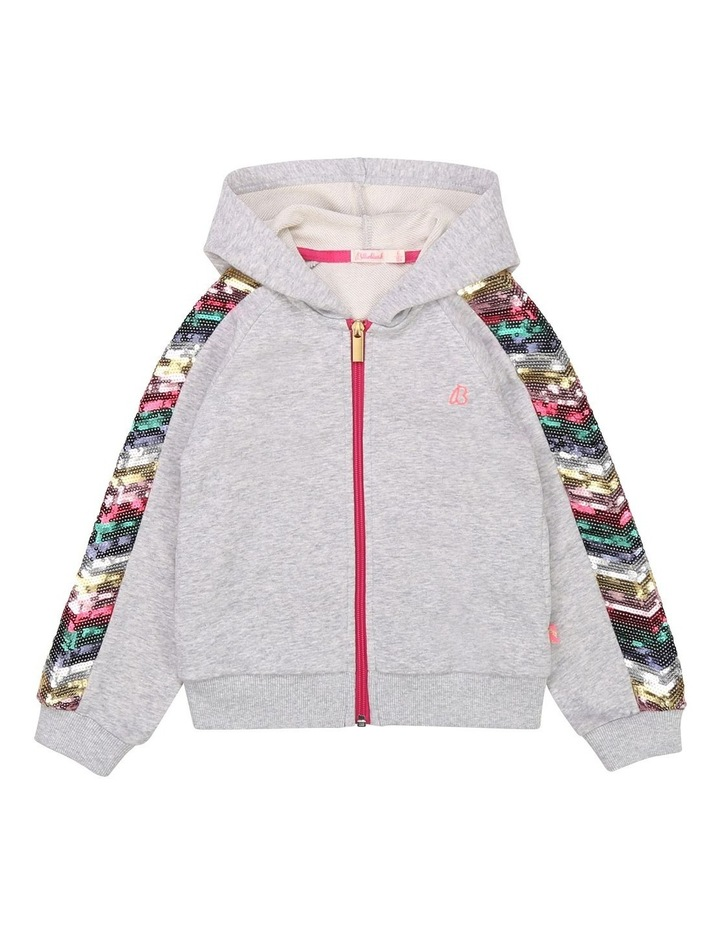 Billieblush French Terry Hooded Cardigan image 1