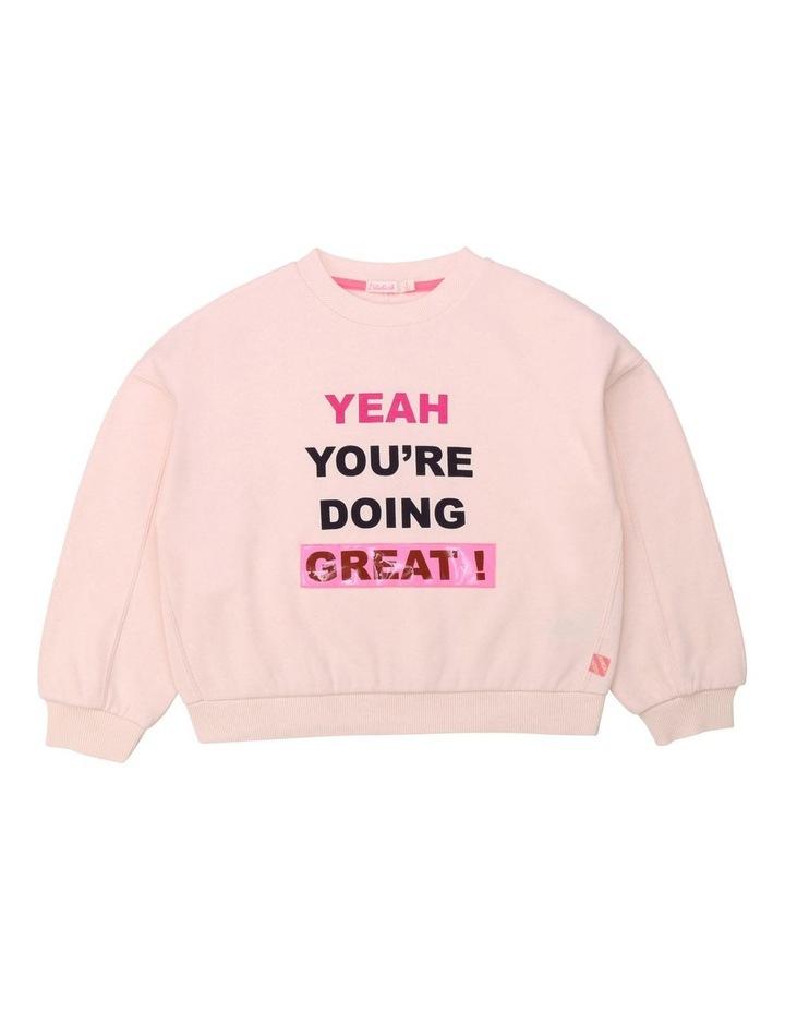 French Terry Oversized Sweatshirt image 1