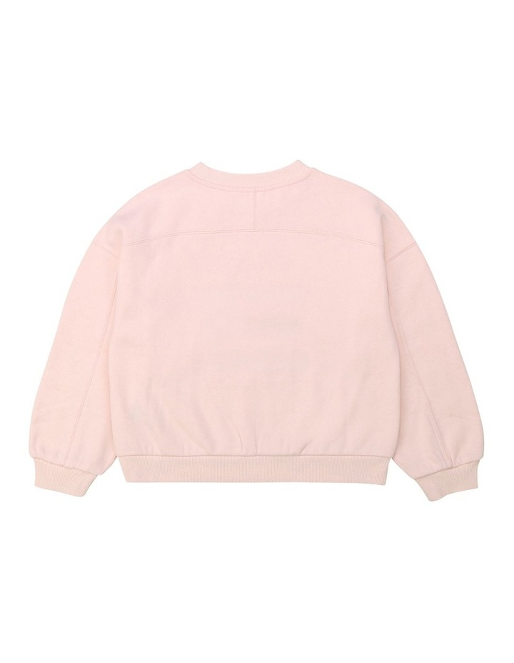 French Terry Oversized Sweatshirt image 2
