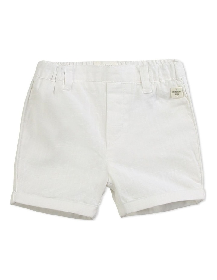 Woven Cotton Shorts image 1