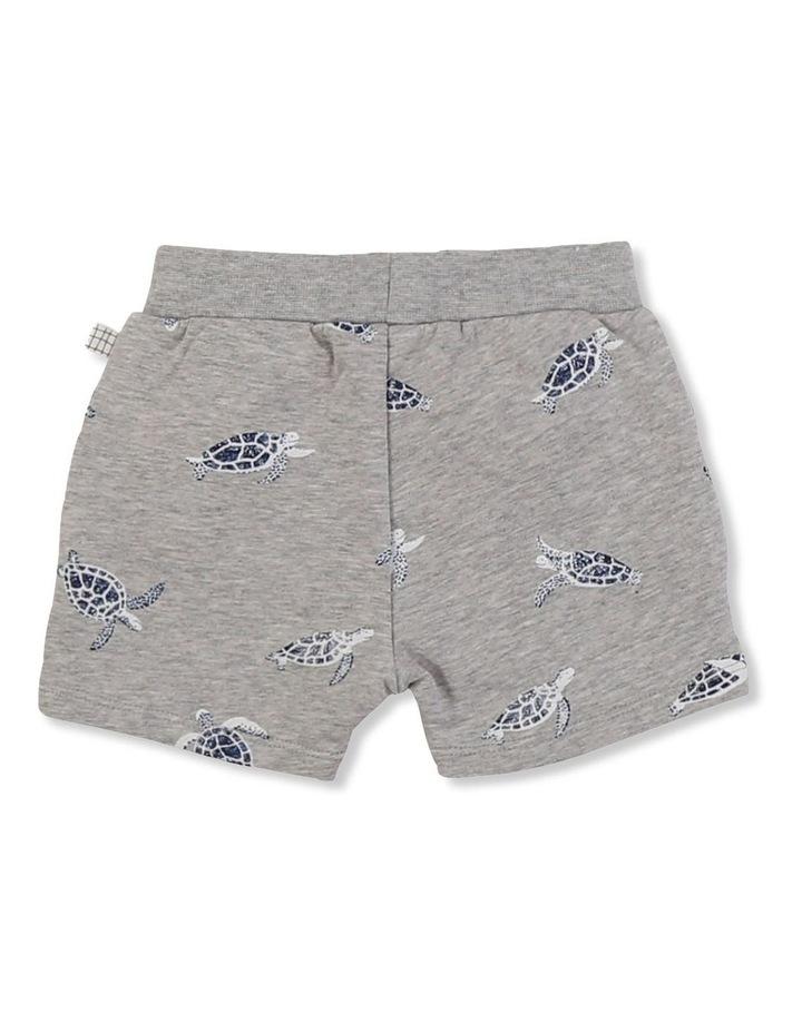 Printed Fleece Shorts image 2