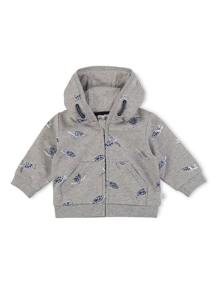 Hooded Fleece Cardigan image 1
