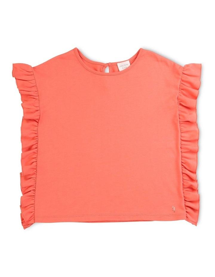 Plain Frilled T-Shirt image 1