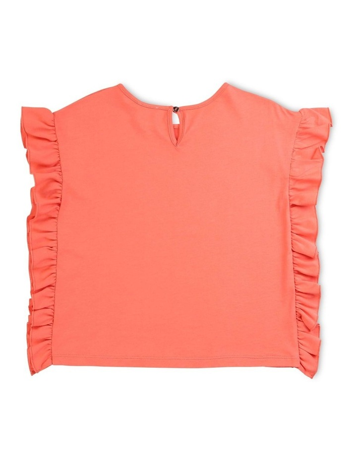 Plain Frilled T-Shirt image 2