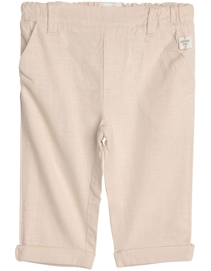Woven Cotton Trousers image 1