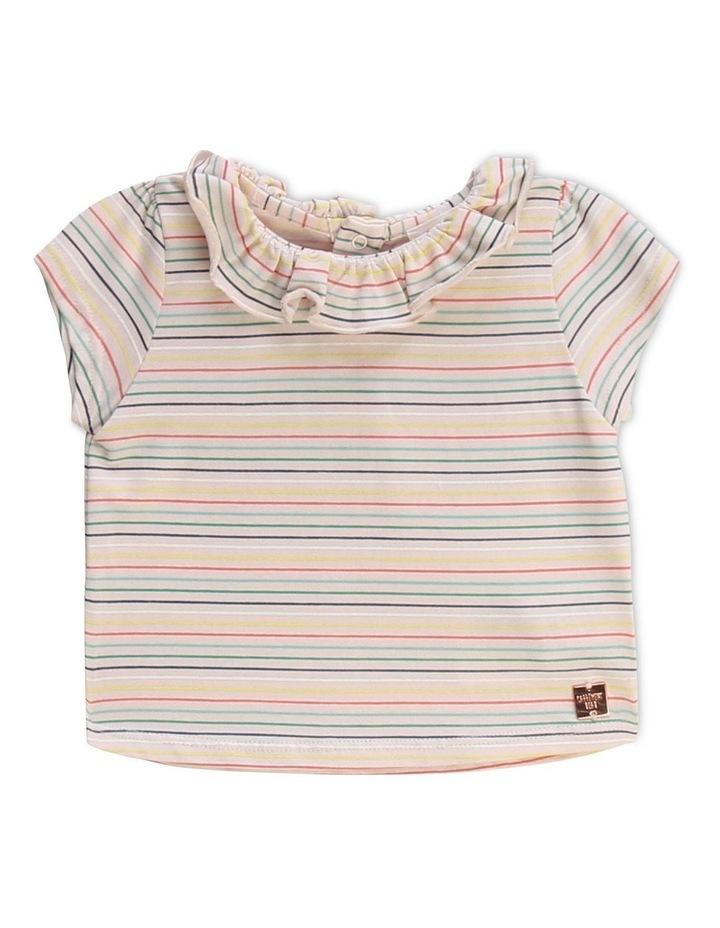Striped Cotton Modal T-Shirt image 1